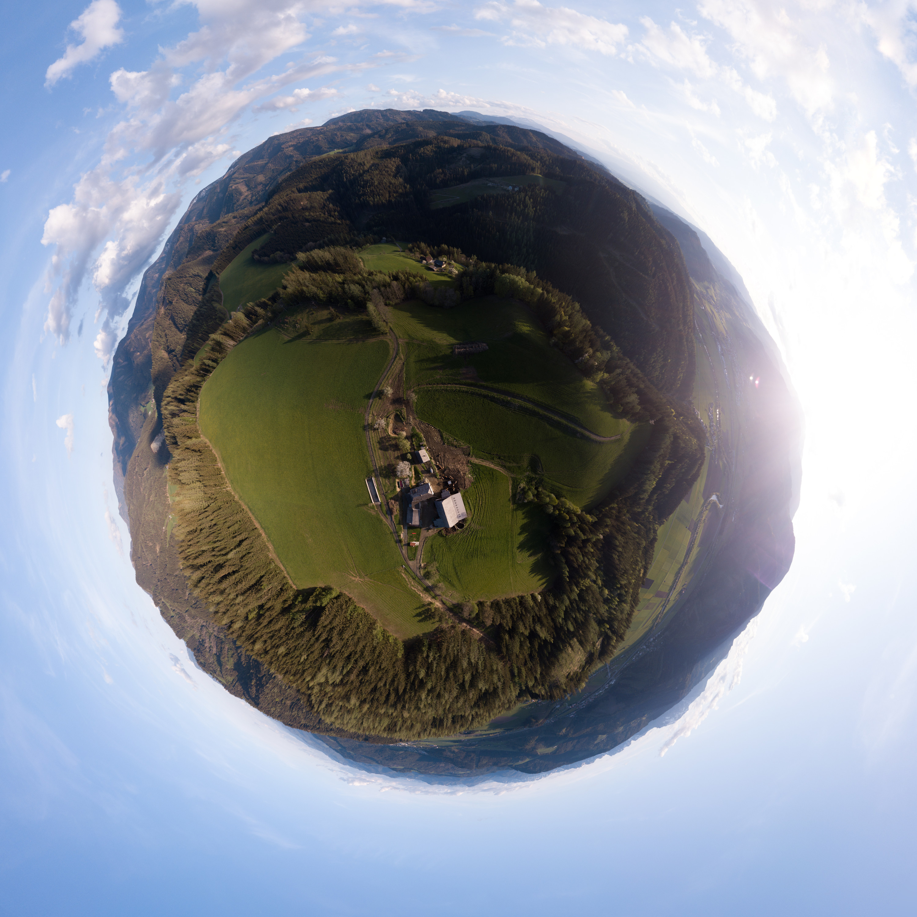 Panorama Little Planet